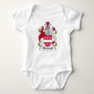 Escudo de la familia de Alborough Mameluco De Bebé