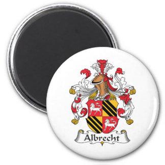 Escudo de la familia de Albrecht Imán Redondo 5 Cm