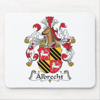 Escudo de la familia de Albrecht Alfombrillas De Raton