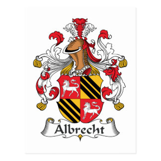 Escudo de la familia de Albrecht Postales