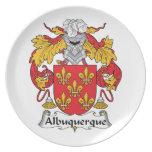 Escudo de la familia de Albuquerque Plato