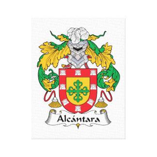 Escudo de la familia de Alcantara Impresion De Lienzo