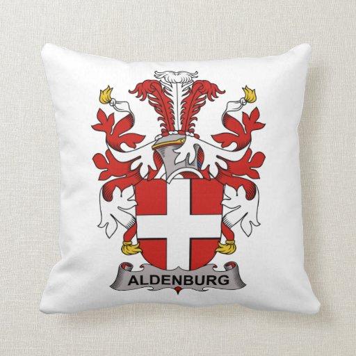Escudo de la familia de Aldenburg Cojin