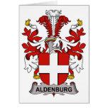 Escudo de la familia de Aldenburg Felicitaciones