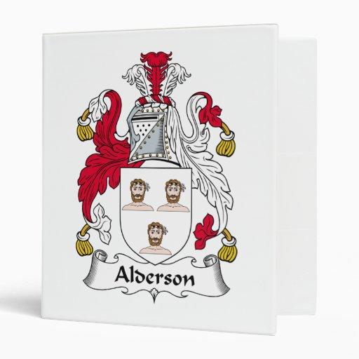Escudo de la familia de Alderson