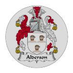 Escudo de la familia de Alderson Juego De Fichas De Póquer