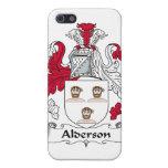Escudo de la familia de Alderson iPhone 5 Protector