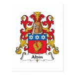 Escudo de la familia de Aldin Postal