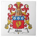 Escudo de la familia de Aldin Tejas