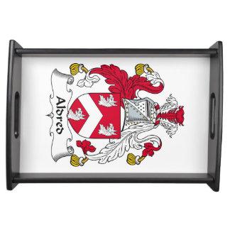 Escudo de la familia de Aldred Bandeja