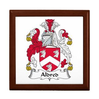 Escudo de la familia de Aldred Caja De Recuerdo