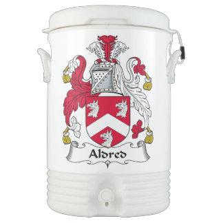 Escudo de la familia de Aldred Enfriador De Bebida Igloo