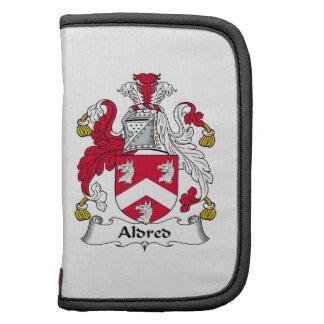 Escudo de la familia de Aldred Organizador