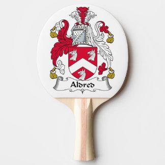 Escudo de la familia de Aldred Pala De Ping Pong