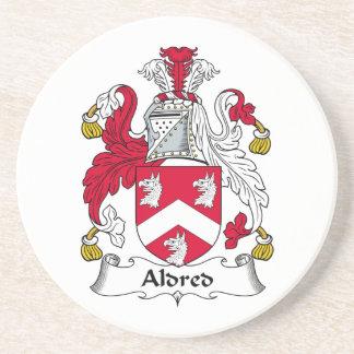 Escudo de la familia de Aldred Posavasos Para Bebidas