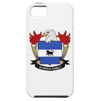 Escudo de la familia de Aldrich iPhone 5 Fundas
