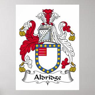 Escudo de la familia de Aldridge Impresiones
