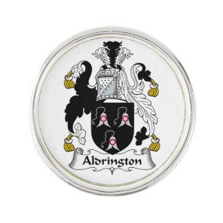 Escudo de la familia de Aldrington Pin
