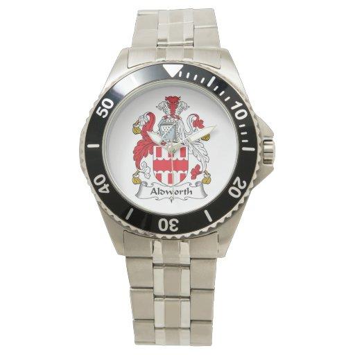Escudo de la familia de Aldworth Relojes De Mano
