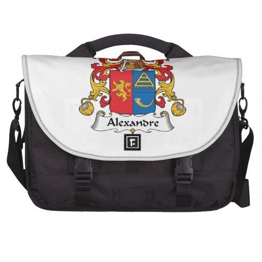 Escudo de la familia de Alejandro Bolsas Para Portatil