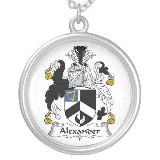 Escudo de la familia de Alexander Grimpola Personalizada