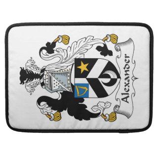 Escudo de la familia de Alexander Fundas Para Macbook Pro