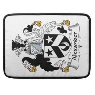 Escudo de la familia de Alexander Funda Para Macbook Pro