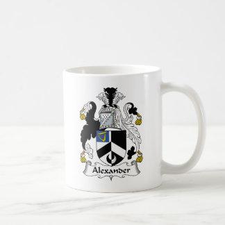 Escudo de la familia de Alexander Taza De Café
