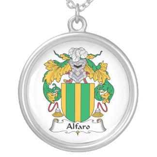 Escudo de la familia de Alfaro Collar Personalizado