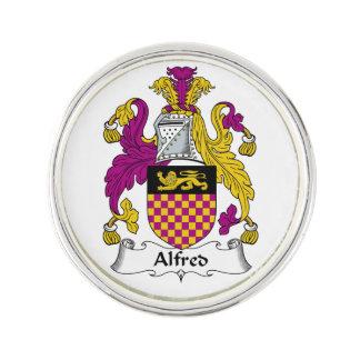 Escudo de la familia de Alfred Insignia