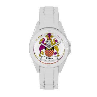 Escudo de la familia de Alfred Relojes De Pulsera