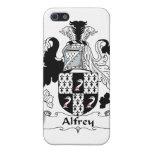 Escudo de la familia de Alfrey iPhone 5 Funda