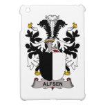Escudo de la familia de Alfsen iPad Mini Protectores