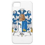 Escudo de la familia de Alix iPhone 5 Case-Mate Fundas