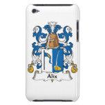 Escudo de la familia de Alix iPod Touch Case-Mate Funda