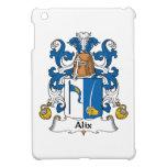Escudo de la familia de Alix iPad Mini Carcasa
