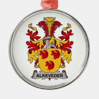 Escudo de la familia de Alkeveder Ornamento De Reyes Magos