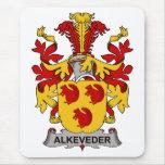 Escudo de la familia de Alkeveder Tapete De Ratones