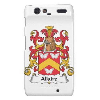 Escudo de la familia de Allaire Motorola Droid RAZR Carcasa