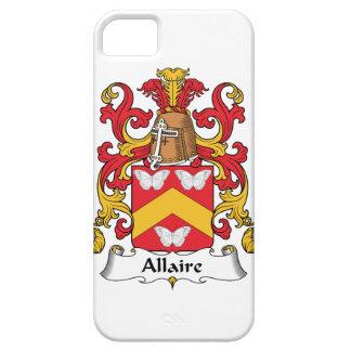 Escudo de la familia de Allaire iPhone 5 Case-Mate Carcasas