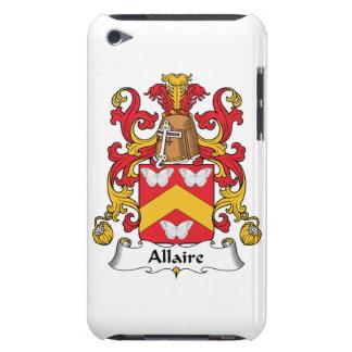 Escudo de la familia de Allaire iPod Touch Case-Mate Cárcasas