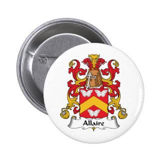 Escudo de la familia de Allaire Pin
