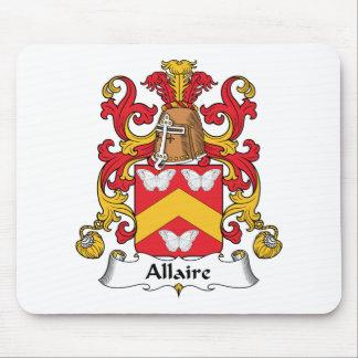 Escudo de la familia de Allaire Alfombrillas De Ratón