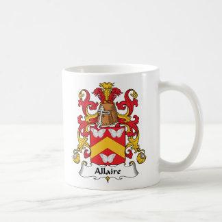 Escudo de la familia de Allaire Taza