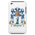 Escudo de la familia de Allamand Case-Mate iPod Touch Protector