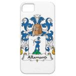 Escudo de la familia de Allamand iPhone 5 Carcasa