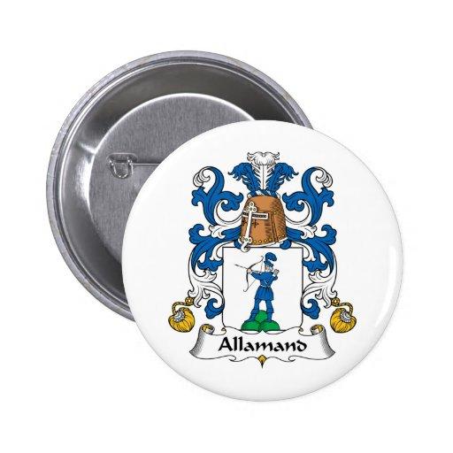 Escudo de la familia de Allamand Pin