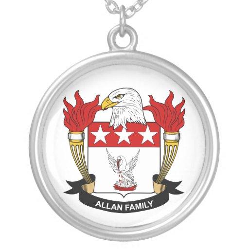 Escudo de la familia de Allan Colgantes