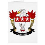 Escudo de la familia de Allan Felicitaciones