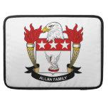 Escudo de la familia de Allan Fundas Macbook Pro